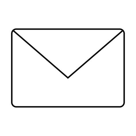 Mail envelope message icon Transparent PNG & SVG vector