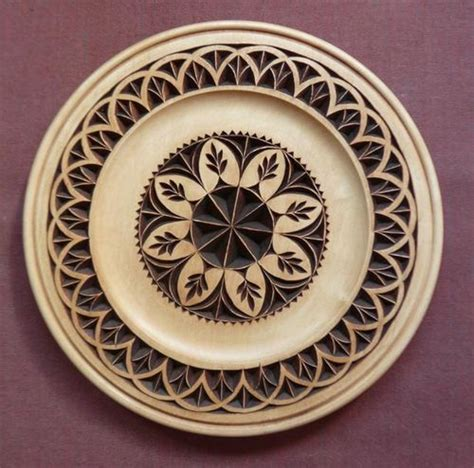 chip carving  plate  finishing  mychipcarving