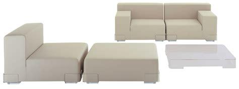 kartell canapé canapé modulable plastics module accoudoir droite l 90