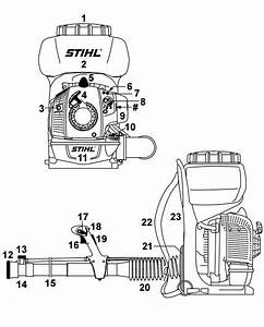 Stihl Br 450 Parts Diagram