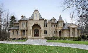 French Chateau Architecture French Chateau Style Home
