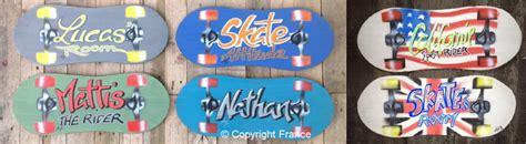 tableau pour chambre ado plaque skate prénom de porte enfant personnalisable