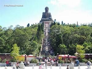 Buddhist famous temple at Lantao island, Hong Kong