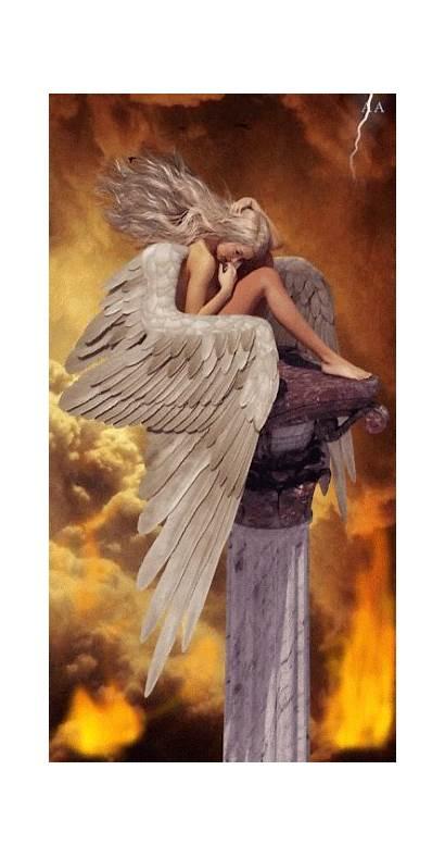 Angel Warrior Angels Fallen Among Dark Guardian