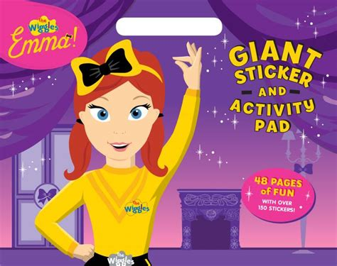 the wiggles sticker and activity pad book
