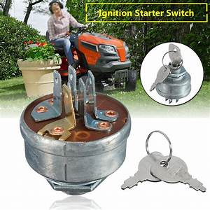 Lawn Mower Ignition Starter 5 Spade Terminal Engine