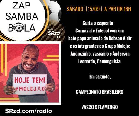 radio vasco r 225 dio srzd transmite vasco x flamengo neste s 225 bado