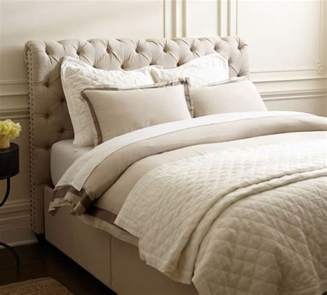 pottery barn headboards pottery barn upholstered furniture
