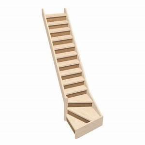 Escalier 1 4 Tournant Droit : contremarche escalier 1 4 tournant 75cm castorama ~ Dallasstarsshop.com Idées de Décoration