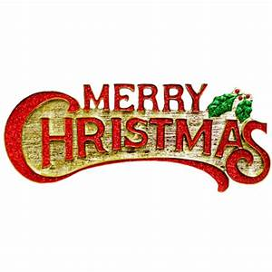 Merry Christmas Playful Text transparent PNG - StickPNG