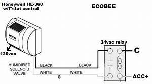 Ecobee4 Stat And Humidifier Rewiring Check Wiring Diagram