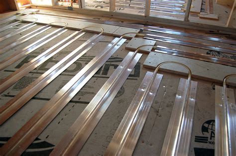 Pex Radiant Floor Heating Transfer Plates by Tfinu Radiant Engineering