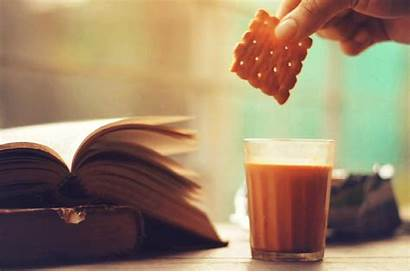 Tea Chai Lovers Etiquette Biscuits Dunking Passionate