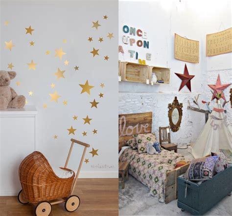 peinture decoration chambre fille 8 idées pour une chambre de bébé étoilée idées cadeaux