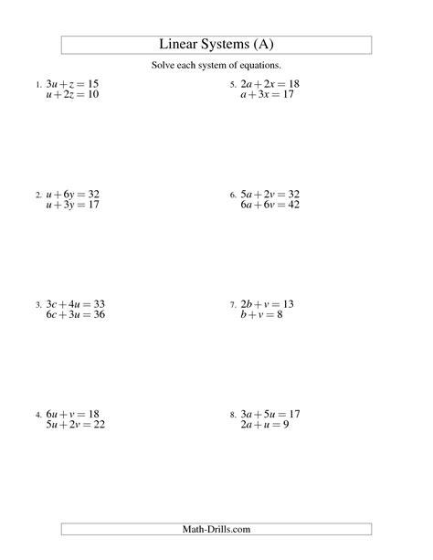 13 Best Images Of Linear Equation Practice Worksheets  Linear Equations Slopeintercept