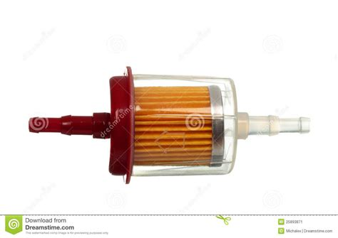 Car Fuel Filter Stock Image