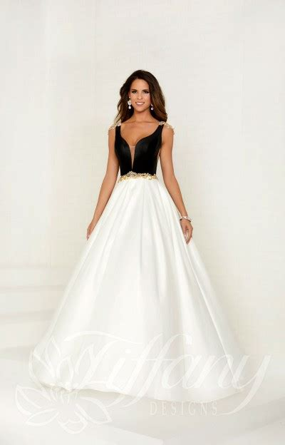 black  white prom dresses formal evening homecoming