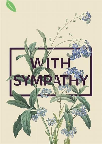 Ecard Sympathy Bloom Birthday Tree Happy Card