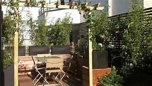 beautiful idees amenagement terrasse gallery awesome With awesome amenagement terrasse exterieure appartement 12 50 idees pour amenager votre jardin