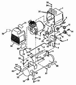 Craftsman Model 919153450 Air Compressor Genuine Parts