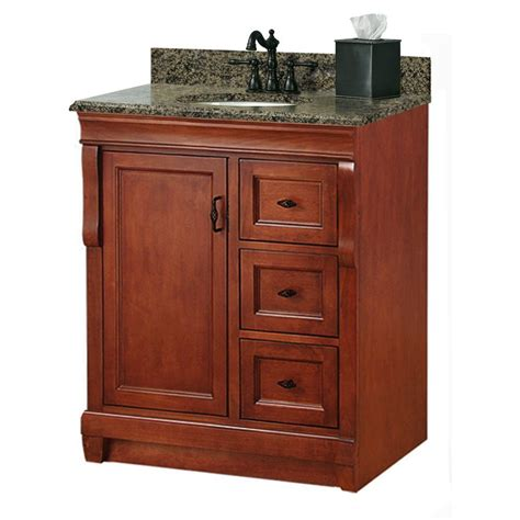 31 granite vanity top with foremost naples 31 in w x 22 in d bath vanity with right