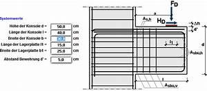 Stahlbeton Bewehrung Berechnen : konsole stahlbeton ~ Themetempest.com Abrechnung