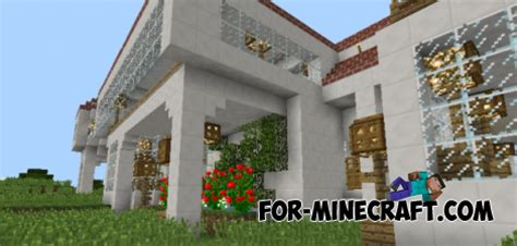 survival mansion map  minecraft pe