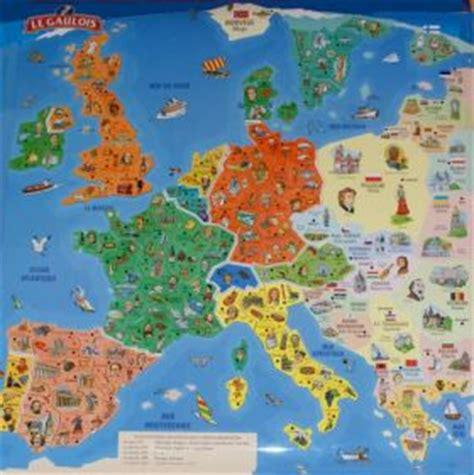 Carte De Le Gaulois 2010 Complete by Carte D Europe Le Gaulois