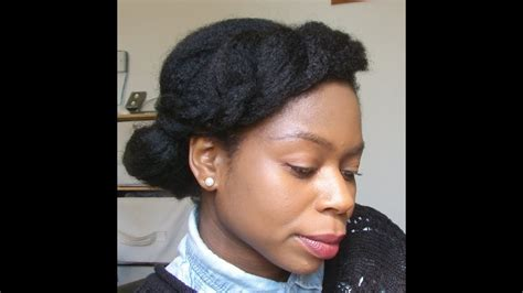 natural hair low manipulation hair styles youtube