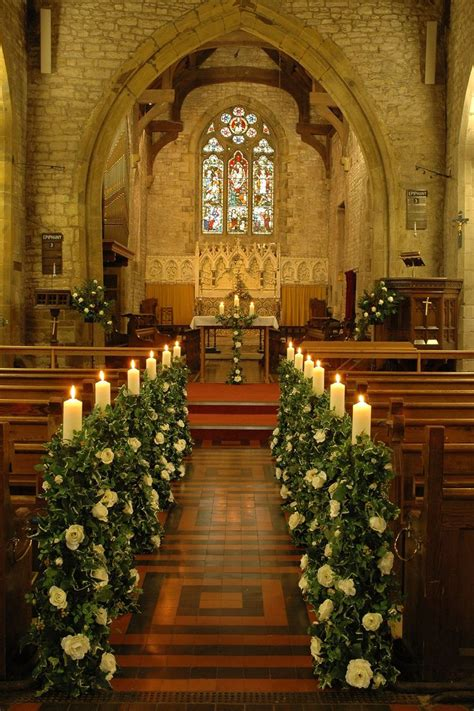 altar wedding decor church wedding altar and aisle decor Church