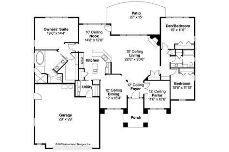 mediteranian house plans mediterranean house plans mendocino 30 681 associated