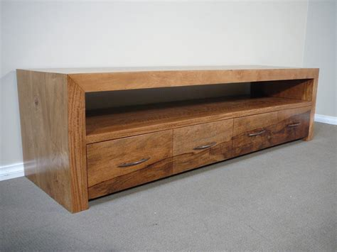 diy mid century modern tv console mango wood tv entertainment unit lowline low line ebay