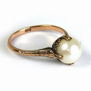 Antique Pearl Ring | www.imgkid.com - The Image Kid Has It!