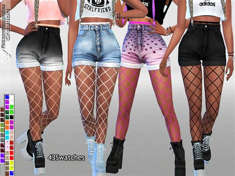 Pinkzombiecupcakes' Fishnet Tights Accessory For Jeans And