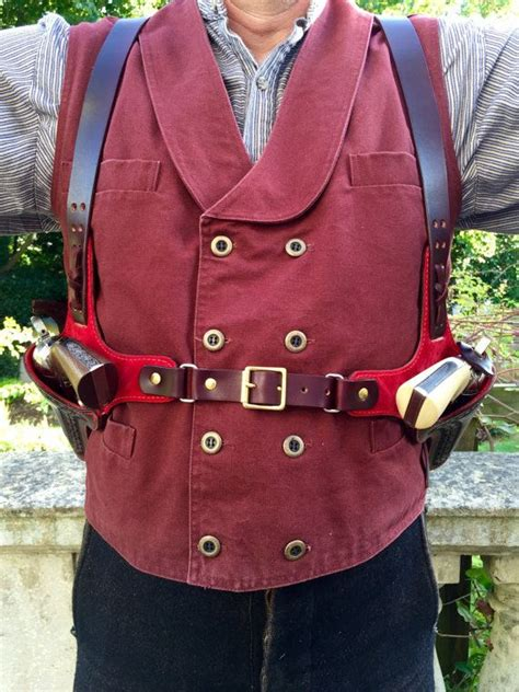 pin  leather western holster