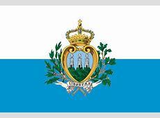 Wappen und Flagge Ufficio di Stato per il Turismo