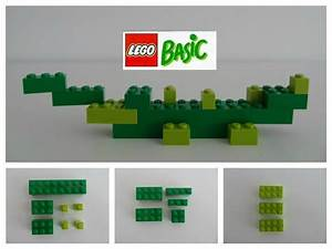 Easy Lego Instructions   How To Make A Green Alligator