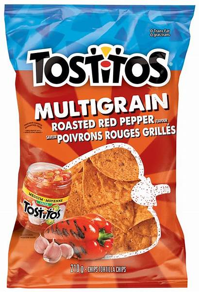 Tostitos Multigrain Chips Tortilla Pepper Roasted