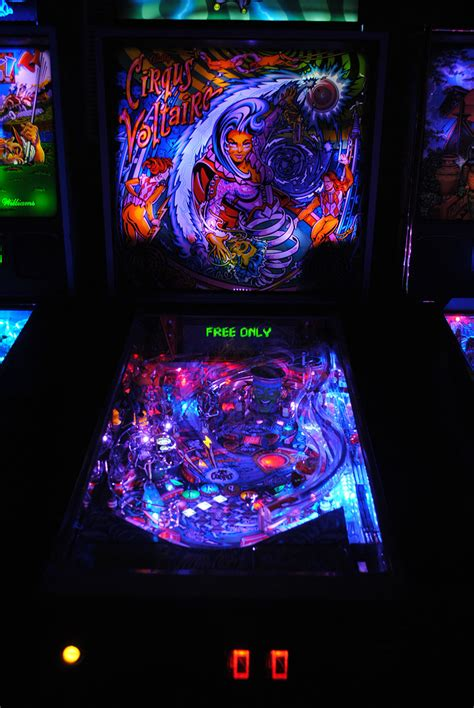 high quality cirqus voltaire pinball ultimate led lighting
