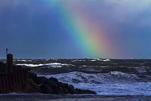 Rainbow, Beach, 1080p, 2k, 4k, 5k, Hd, Wallpapers, Free