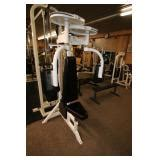 commercial fitness equipment liquidation auction