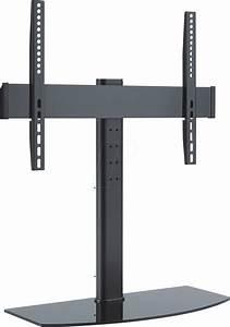 Tv Standfuß Höhenverstellbar : pm tvs 01 tv standfu 32 55 h henverstellbar max 40 kg schwarz bei reichelt elektronik ~ Watch28wear.com Haus und Dekorationen