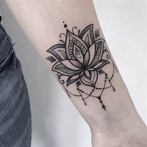 Tatouage Avant Bras Femme Mandala : tatouage fleur zoom sur le mysticisme derri re le lotus ~ Melissatoandfro.com Idées de Décoration