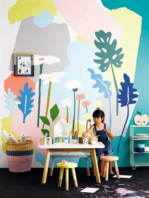 3 Creative Wall Murals For Kids  Petit & Small