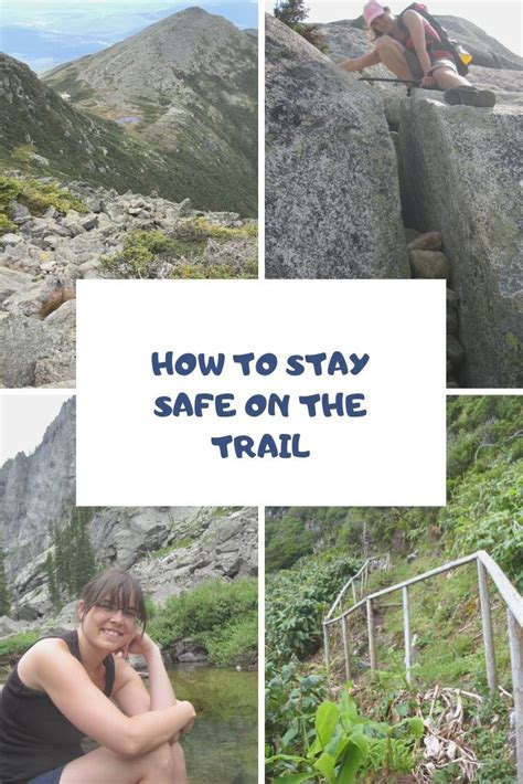 How to Stay Safe on the Trail Hiking tips Beginner