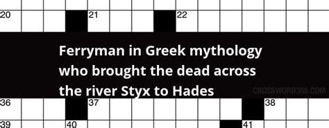 foto de Ferryman in Greek mythology who brought the dead across