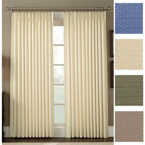 Pinch Pleated Drapes Traverse Rod - pleated curtains for traverse rods eyelet