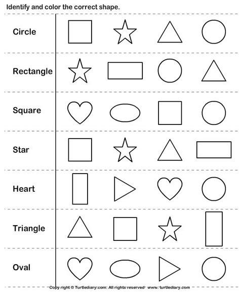 k identify shapes turtlediary com kindergarten