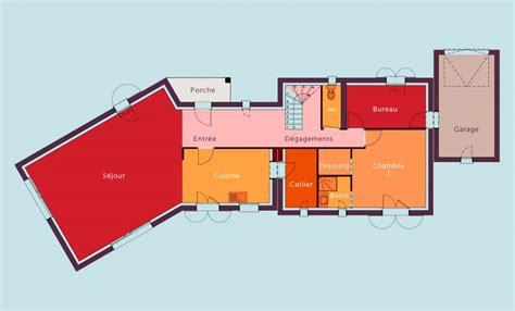 maison 4 chambres plan maison 4 chambres etage gascity for