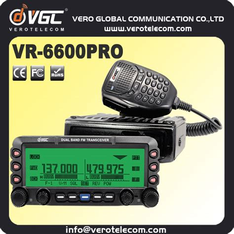 50w ham radios mobil brouilleur radio talkie walkie longue port 233 e 30 km vr 6600p interphone id